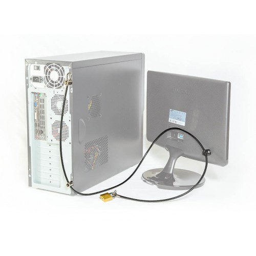 Lock for PC and Monitor